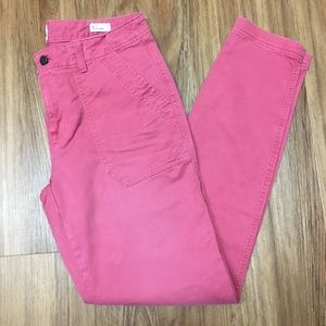 GAP skinny utility ankle pants - 8 tall